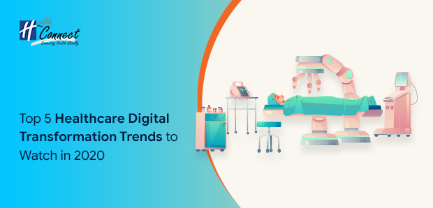 Top 5 Healthcare Digital Transformation Trends to Watch in 2020